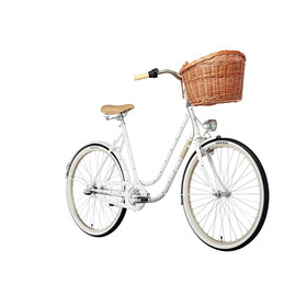 "Creme Molly City Bike Women 26"" white"